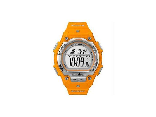 Timex Ironman Men's | Orange Strap Orange Case Durable ISO | Sport Watch T5K585