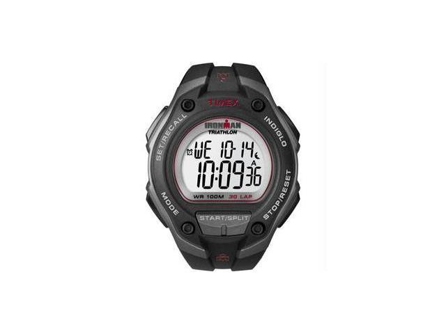 Timex Ironman 30 Lap Watch - Oversize - Black/Red