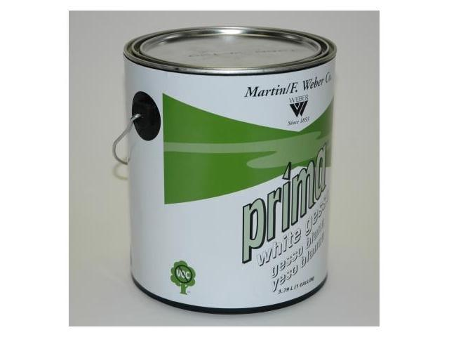 Martin - F. Weber 1366 Prima White Gesso Gallon