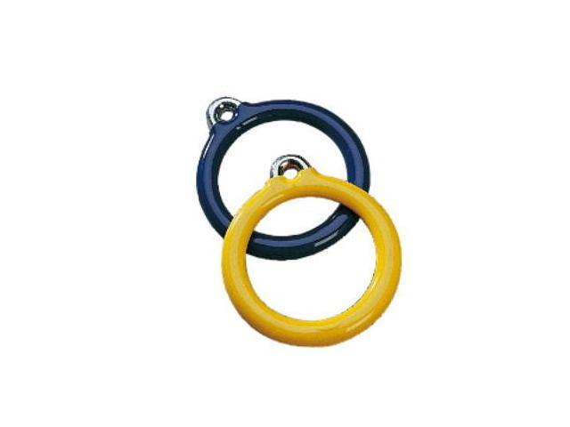 Jensen Swing Products - Commercial 6 in. Trapeze Plastisol Ring - Yellow