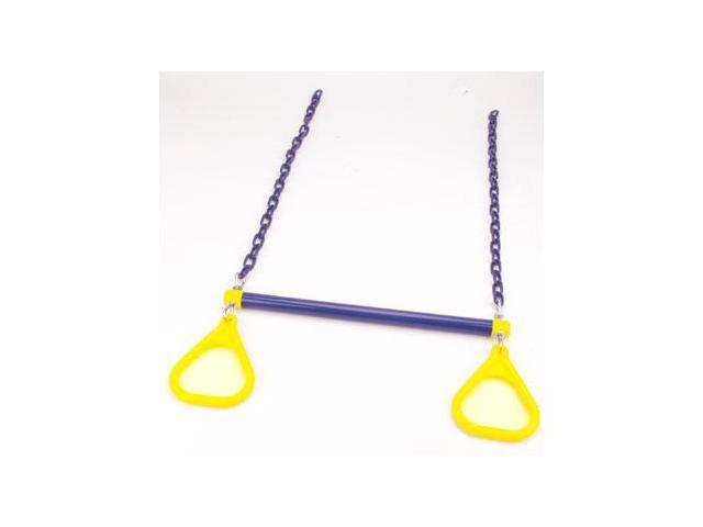 Jensen Swing Products - Commercial Combo Trapeze Bar - Blue-Yellow
