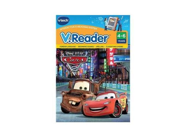 Vtech Electronics 80-281900 V.Reader Animated E-Book Reader - Cars 2