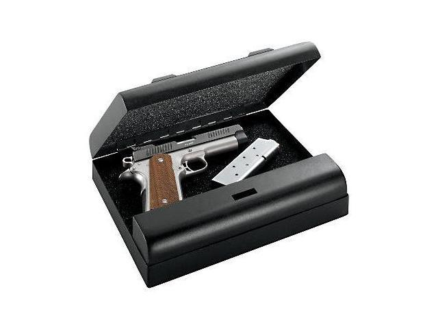 GunVault Microvault Portable Pistol Safe, Waterproof with Keypad Entry -STD