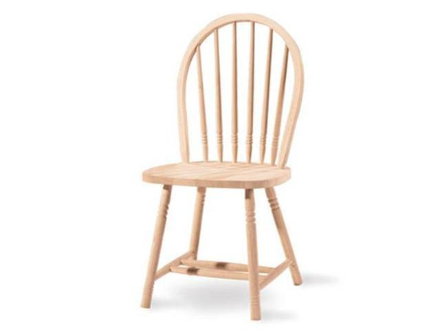 International Concepts 1C-114 Junior Windsor Spindleback Chair