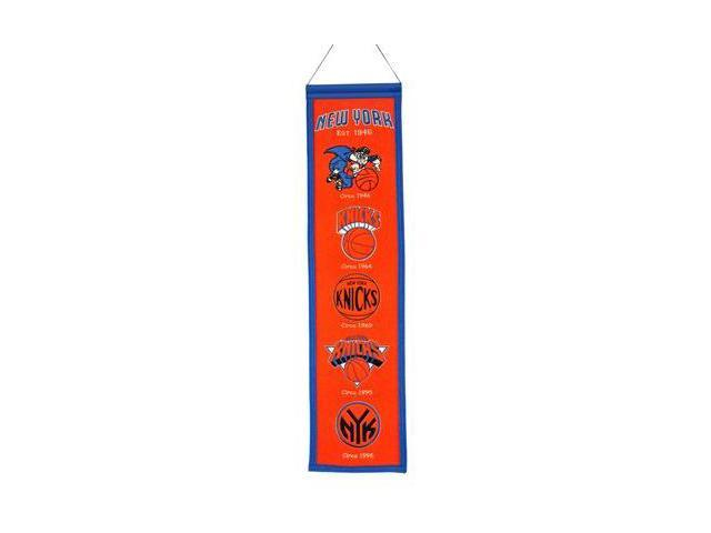 Winning Streak Sports 48002 New York Knicks Heritage Banner