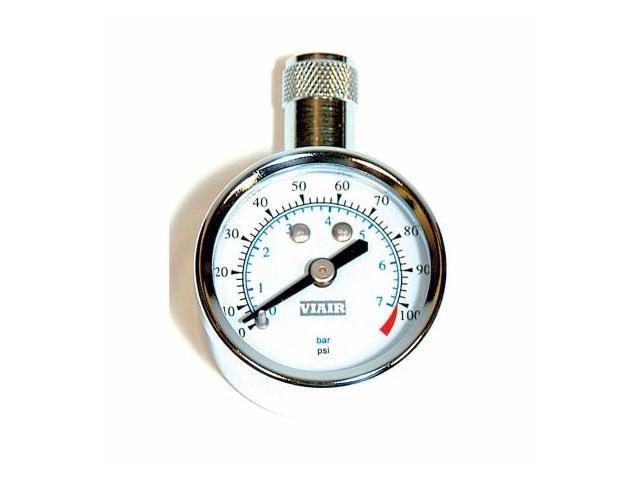 VIAIR 90071 1.5 in. Tire Gauges 0-100 PSI