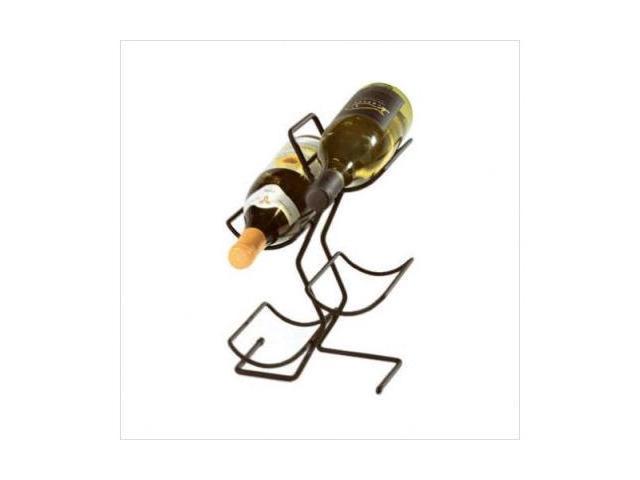 Spectrum 49010CAT 4 Bottle Wine Tree - Black
