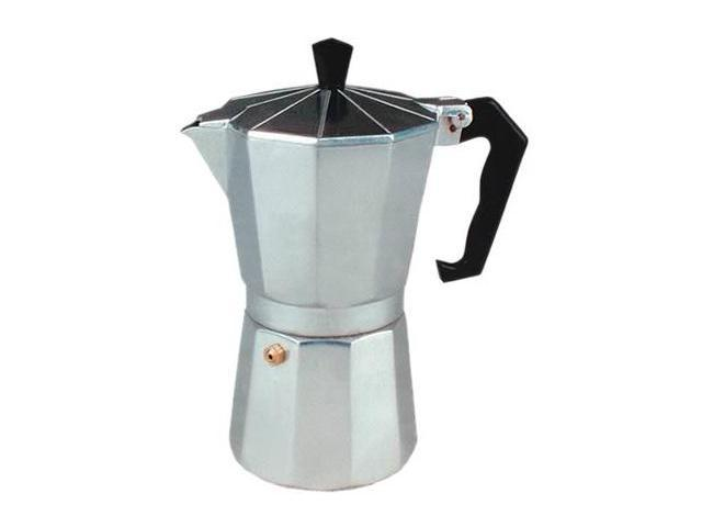 Cucina Pro 270-03 Aluminum Stovetop Espresso 3 Cup