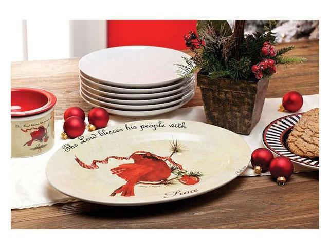 Evergreen EG3PCS3643 Cardinal Serving Platter