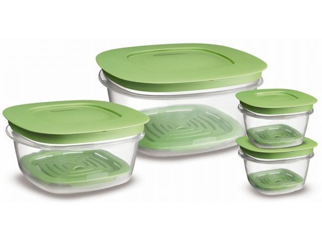 Rubbermaid 4 Piece Set Produce Saver Food Storage  7J9300FRESH