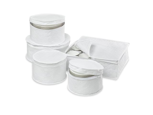 Honey Can Do SFT-01630 5 Piece Dinnerware Storage Set