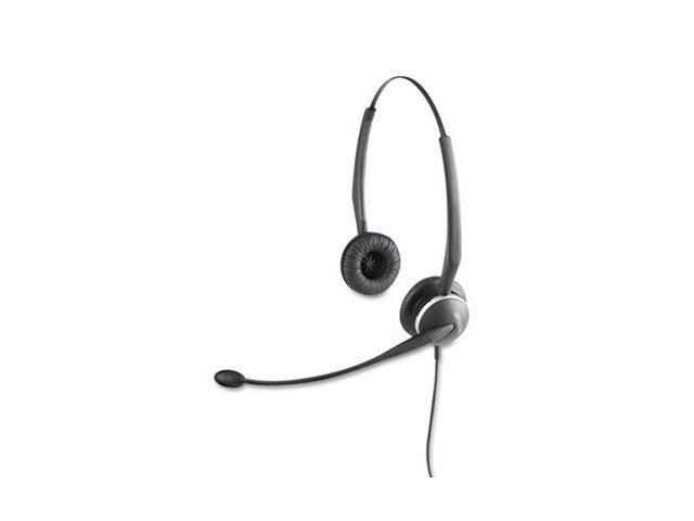 Jabra 01-0247 GN 2120 Flex Binaural Over-the-Head Telephone Headset w/Noise Canceling Mic