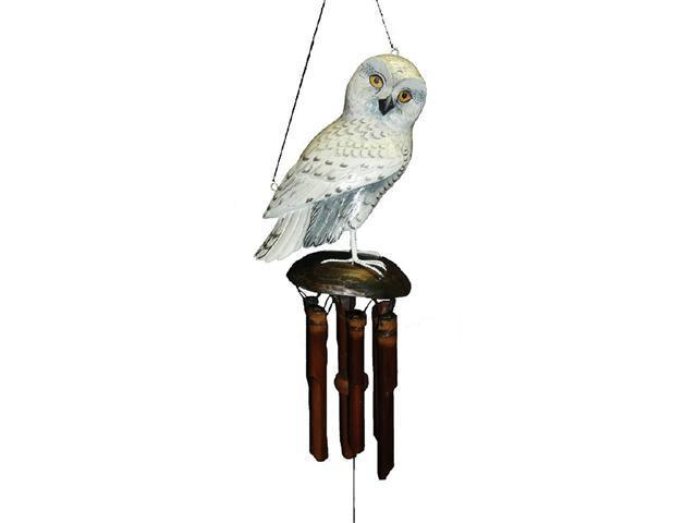 Cohasset Imports CH175SO Snowy Owl Wind Chime