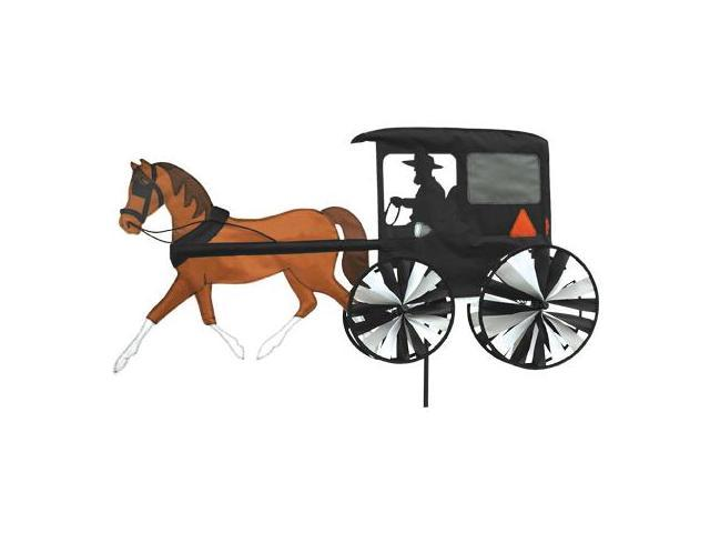 Premier Designs PD25663 Horse and Buggy Garden Spinner