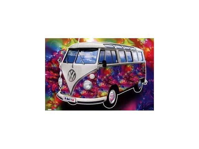 Trends International TIARP0434 VW Californian CamperLove -22 x 34- Poster Print