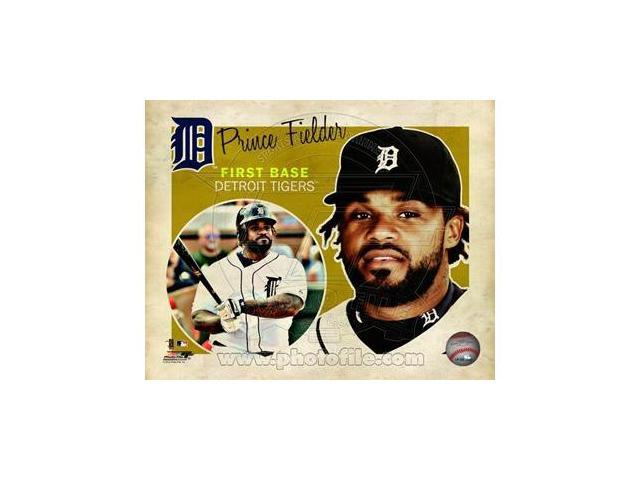Photofile PFSAAOQ14501 Prince Fielder 2012 Studio Plus Photo Print (8.00 x 10.00)
