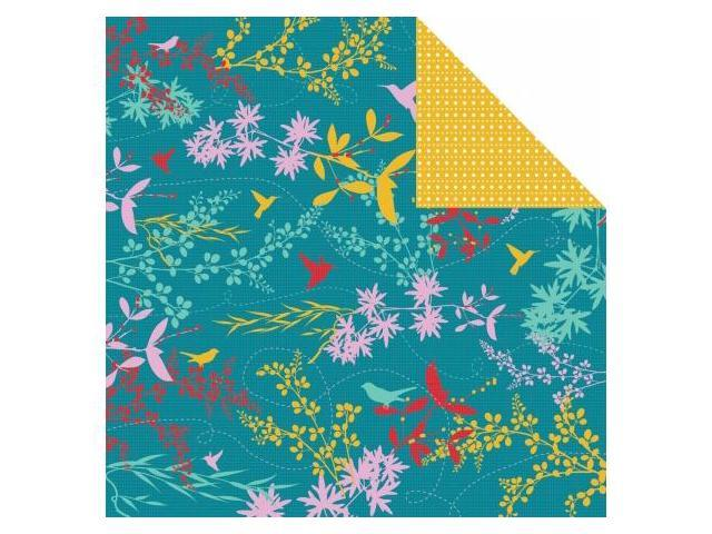 Kaisercraft P780 Hummingbird Double-Sided Paper 12 in. X12 in. -Nectar -Pack of -20