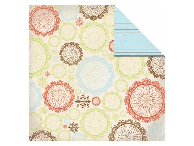 Kaisercraft P744 Merry Medley Double-Sided Paper 12 in. X12 in. -Sing-A-Long -Pack of -20