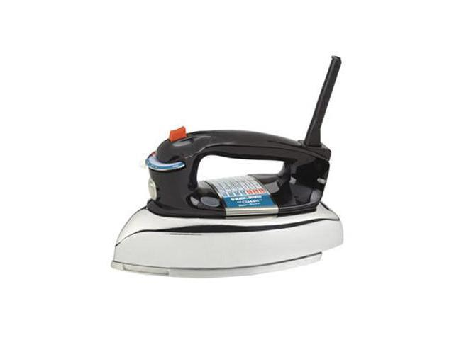 Applica F67E Black and Decker Classic Iron Brings Simplicity and Style Back to Ironing