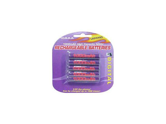 Lenmar AAA NiMH Rechargeable Batteries - 10 pack PRO-1010