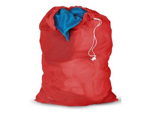 Honey Red Mesh Laundry Bag  LBG-01162