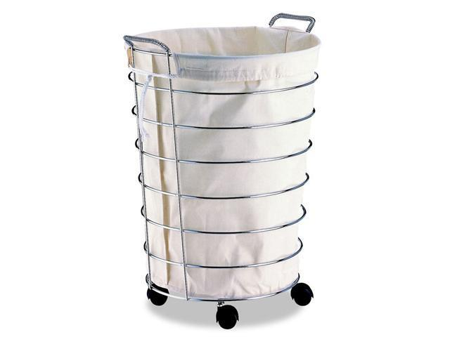 Organize It All 1761 Jumbo Laundry Basket with Canvas Bag