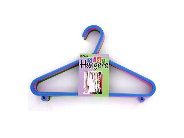 Plastic kids hangers - Pack of 24