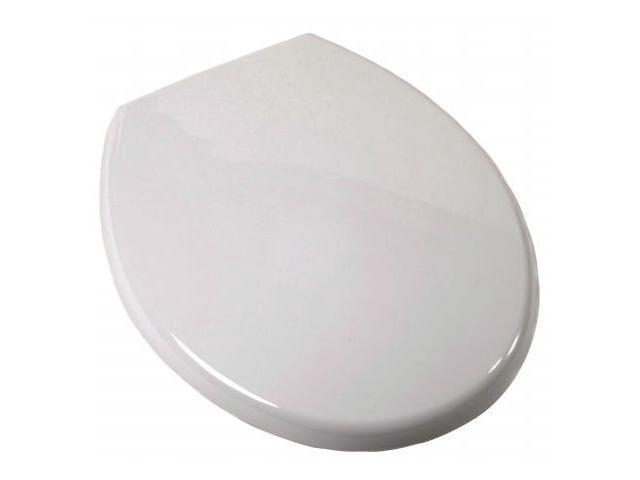 Jones Stephens Plumbing White Round Euro Toilet Seat  C3B3R2-00