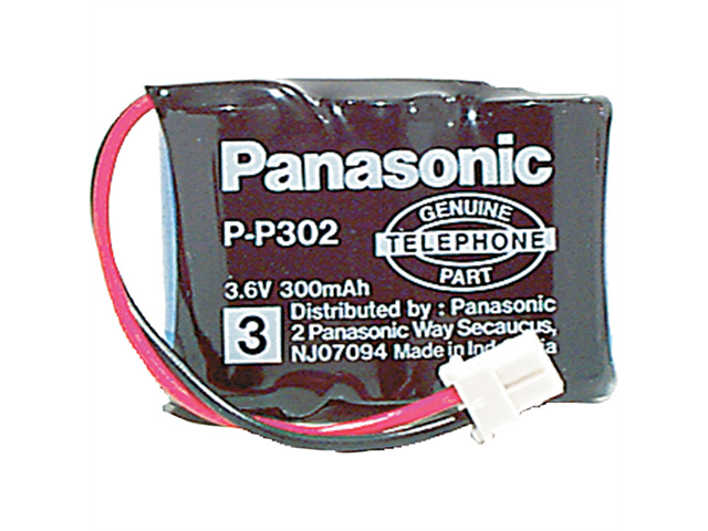 Panasonic HHR-P302A/1B Replacement Battery for Panasonic  GE  Cobra  GTE  NW Bell  Sanyo  SW Bell