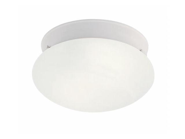 Livex 7007-03 Home Basics Ceiling Mount Light- White