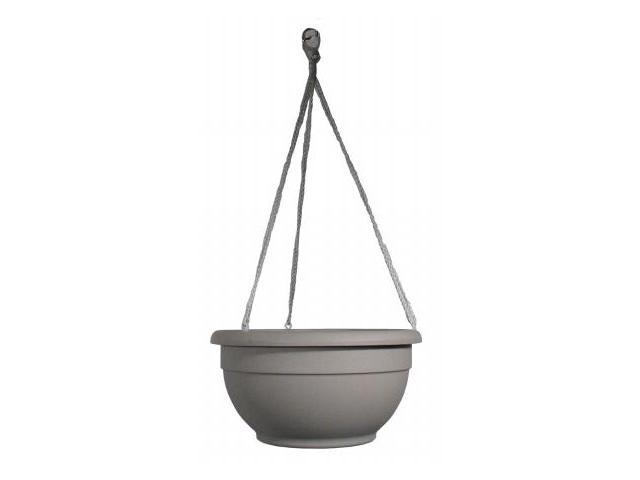 Apollo Plastics 12in Bone Self Watering Hanging Planter