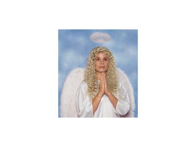 Franco American Novelty 31018-08 Feather Marabou Halo - White