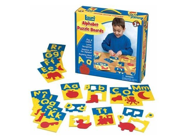 Lauri 2330 Alphabet Puzzle Boards- Pack of 1