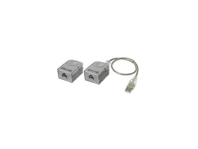 USB Extender  RJ45 Cable Extends To 150ft