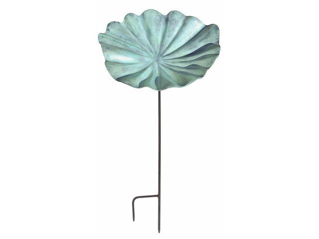Achla LBB-01-S Large Lily Leaf Birdbath with stand