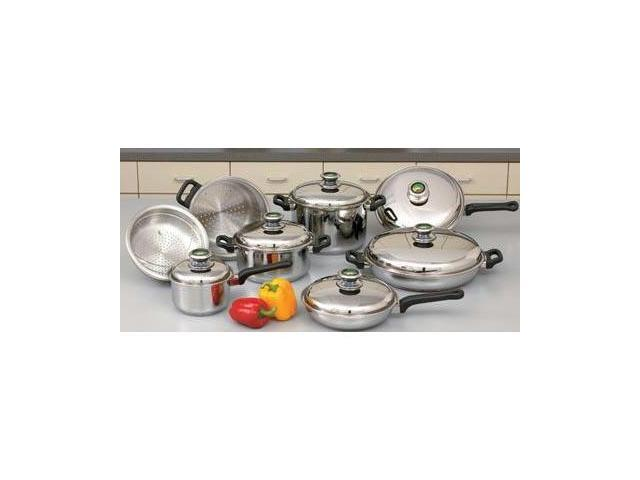 Element Cookware Set with Thermo Control Knobs