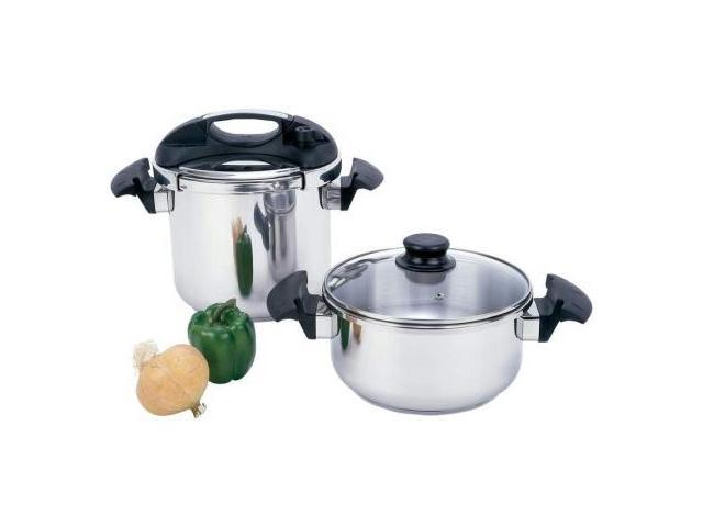 Precise Heat 4Pc Pressure Cooker Set