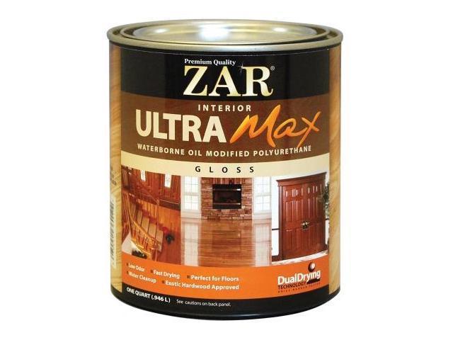 United Gilsonite 1 Quart Gloss Zar Interior Ultra Max Waterborne Oil Modified P