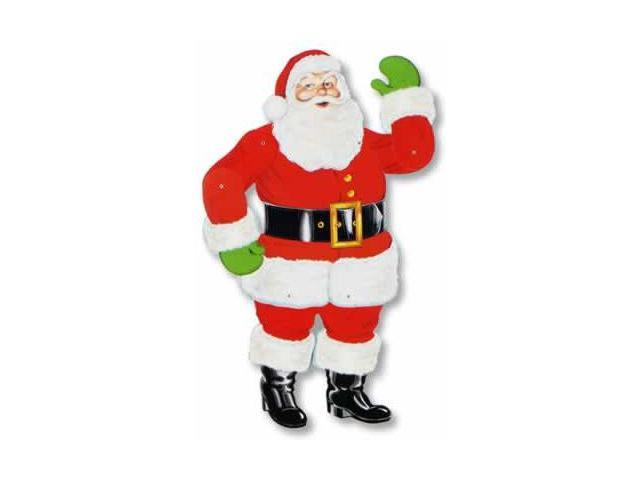 Beistle - 22525 - Jointed Santa- Pack of 12