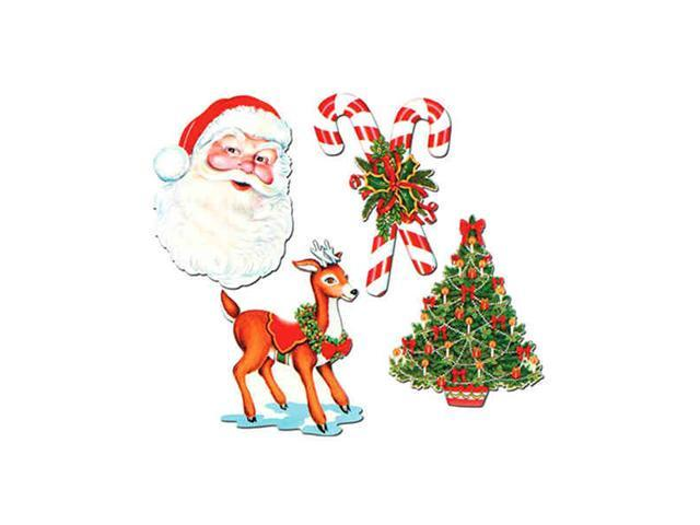 Beistle - 22091 - Christmas Cutouts - Pack of 24