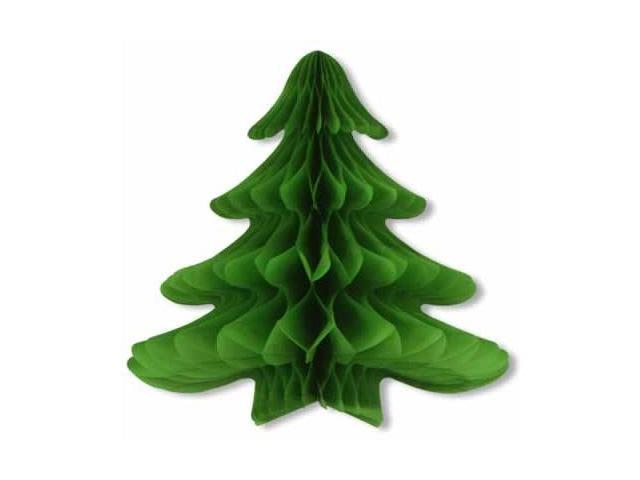 Beistle - 22740 - Hanging Christmas Tree - Pack of 6