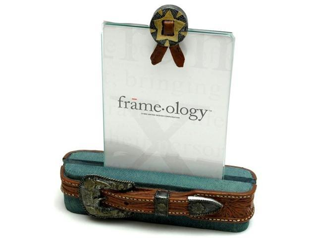 IWDSC 0193-181764 Resin and Glass Cowboy Belt Frame