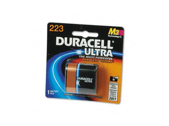 Duracell DL223ABPK Ultra High Power Lithium Battery  223  6V