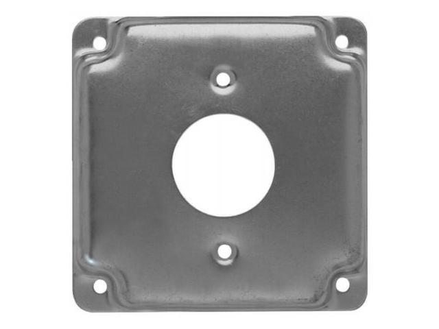Cover, 4x4, Receptacle 1.406 In Dia
