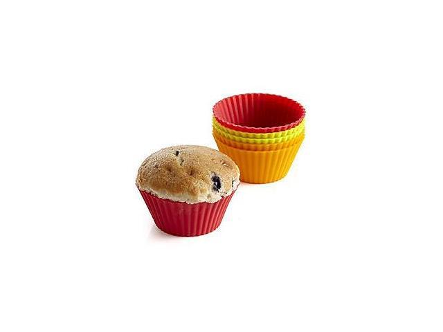 Bethany Housewares 170 Silicone Muffin Liners - Set of 6