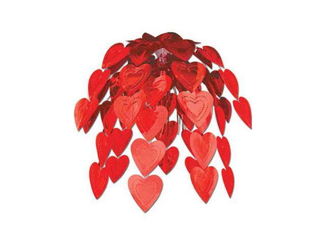 Beistle - 70750-R - Heart Cascade- Pack of 12
