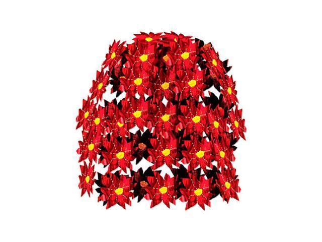 Beistle - 20753 - Poinsettia Cascade- Pack of 12