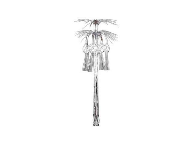 Beistle - 57544 - 25th Anniversary Cascade Hanging Column- Pack of 12
