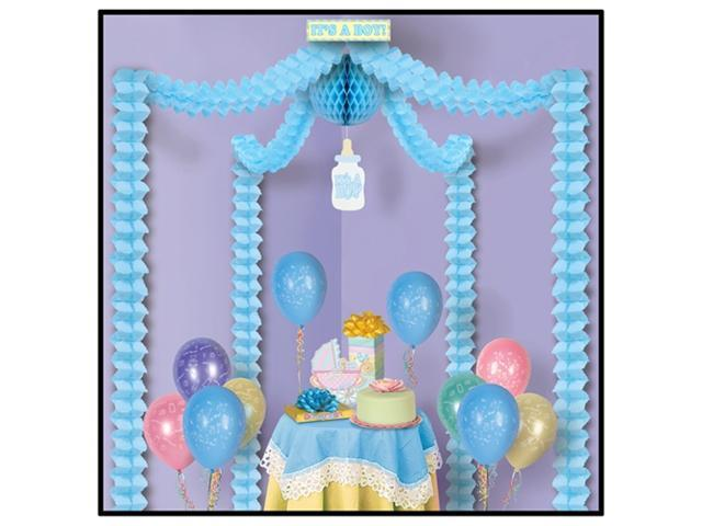 Beistle 54429 Its A Boy Party Canopy Pack of 6