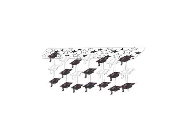 Beistle - 50333 - Graduate Cap Ceiling Decor - Pack of 6